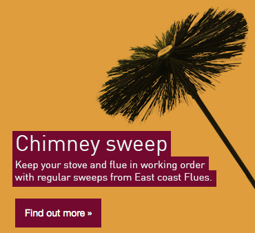 Chimney sweeping from East Coast Flues
